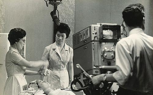 初代 山﨑伊久江、NHK教育TV番組 職業技能講座「美容・パーマネントウェーブ」担当